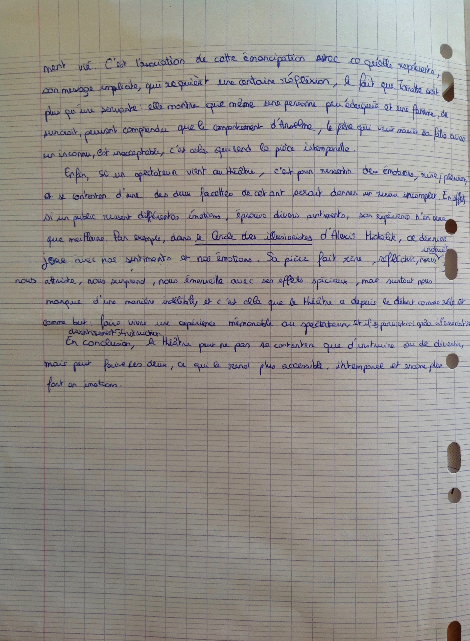 thought commencer n't paragraphe de dissertation